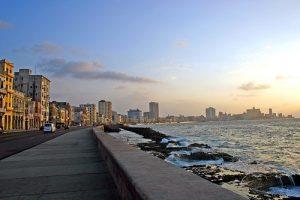 O mar de Havana. Foto retirada do site InViaggio