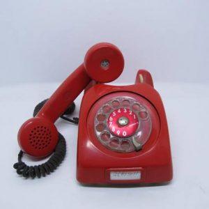 telefone anos 1970 fora gancho